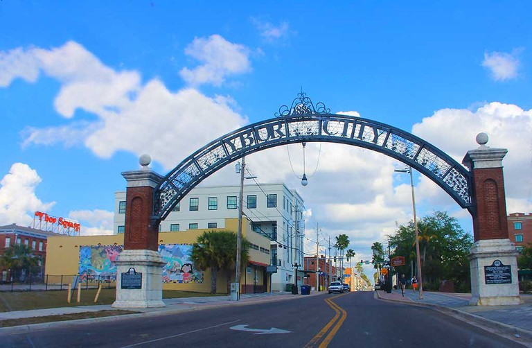 Entrance to Ybor City, Tampa