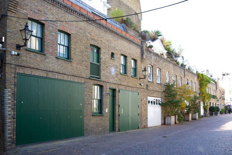Francis Bacon's home was on Reece Mews