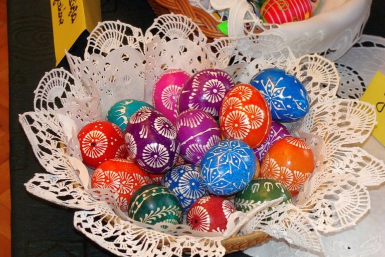 04_Easter_eggs_at_a_Cultural_Miner's_House_in_Sanok