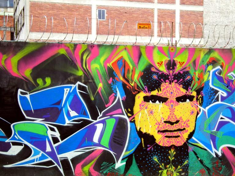 A Stinkfish mural