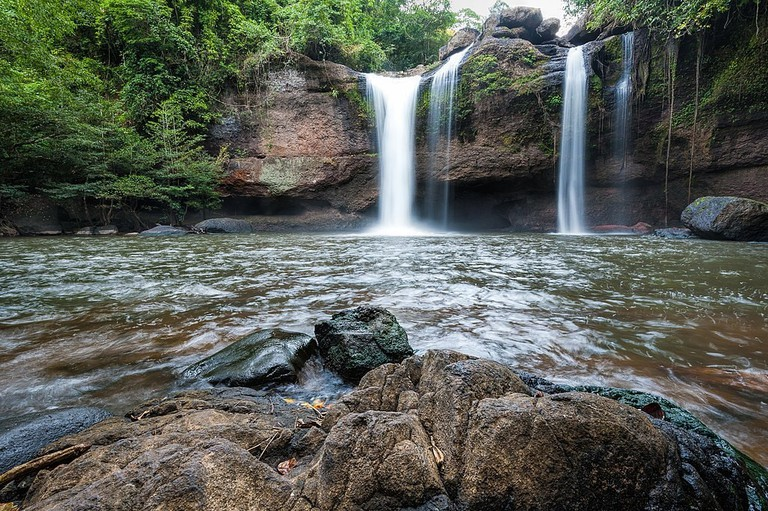Haew Suwat Waterfall in Khao Yai National Park