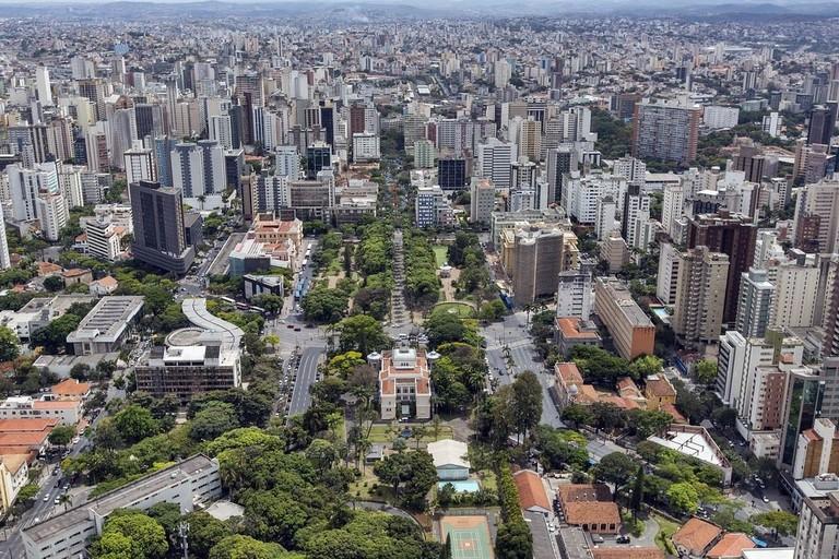 Aerial view of Belo Horizonte