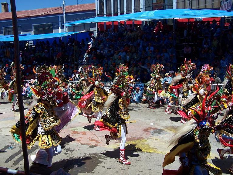 Oruro carnival Diablada