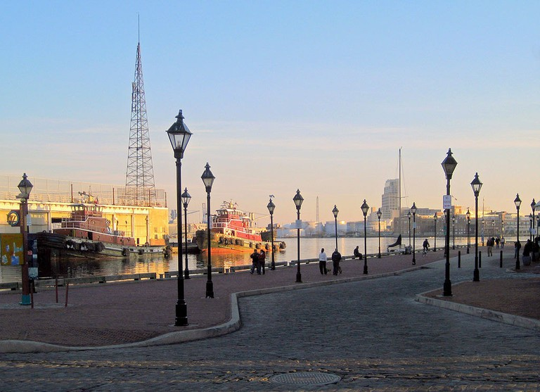 Fell's Point, Baltimore, Maryland, Sunset