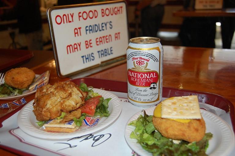 Coddie, Crab cake, Baltimore food, Baltimore, Maryland