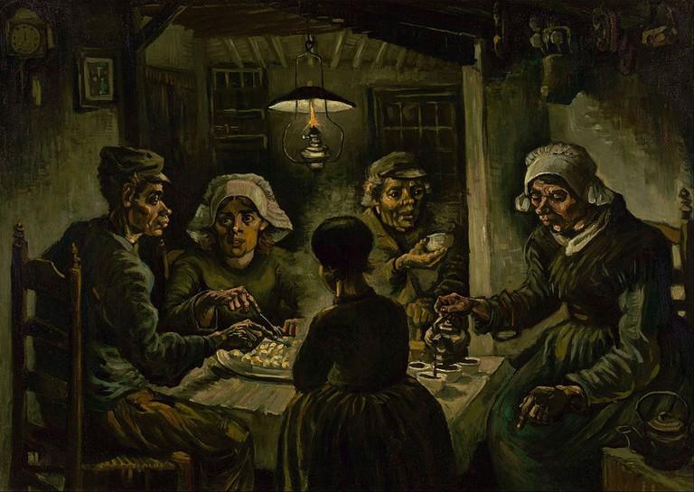 Vincent van Gogh, the Potato Eaters (1885)