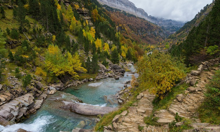 El rio del Valle de Ordesa, Spain