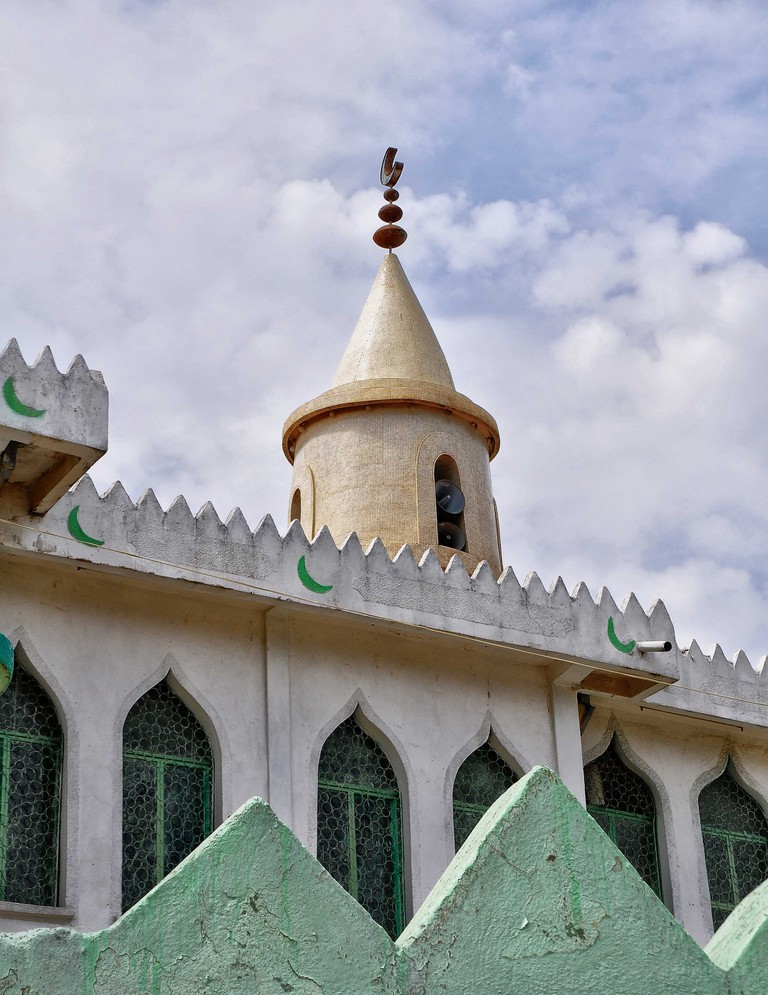 A mosque in Harar