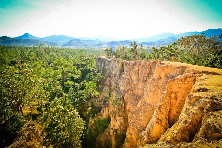 Views of Pai Canyon in Mae Hong Son