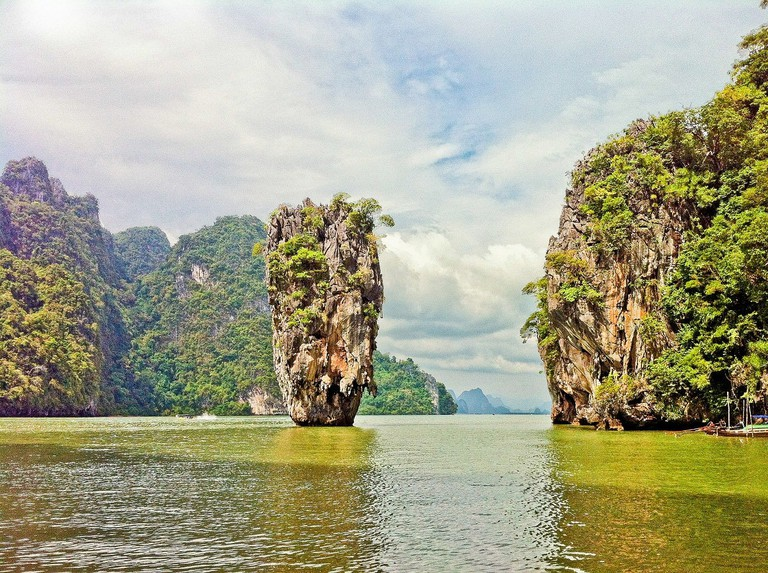 The much-photographed James Bond Island