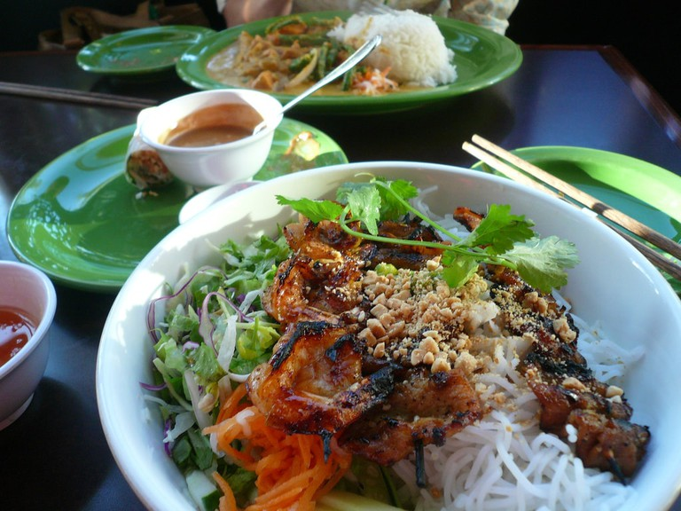 One of Vietnam's many wonderful dishes