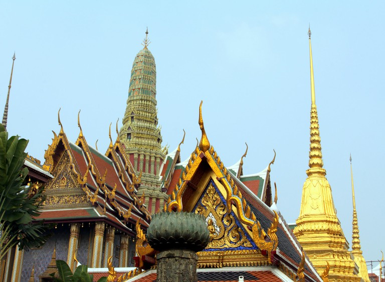 Inside the Grand Palace complex, Bangkok