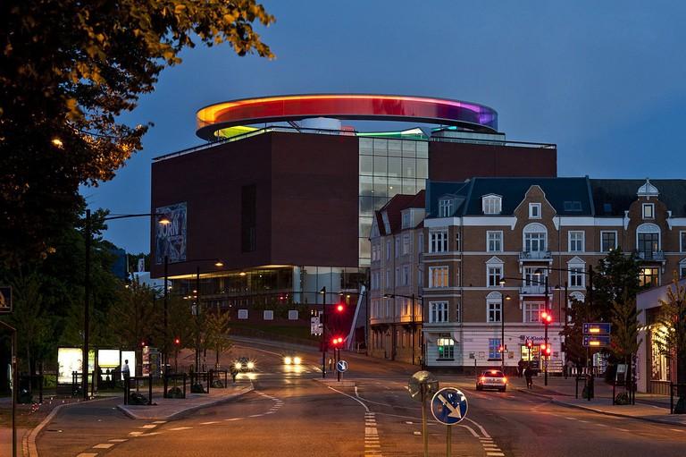 Aros_rainbow_panorama Aarhus museum