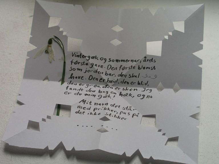 gækkebreve fool's letter denmark easter