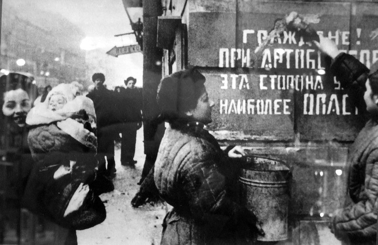 Removal of artillery warning sign after liberation
