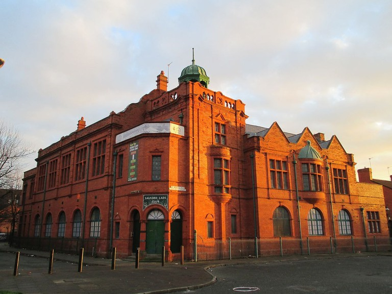 Salford Lads Club, just outside Manchester City Centre, made famous by The Smiths
