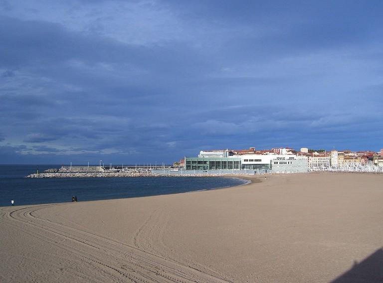 Playa Poniente, Gijon, Asturias