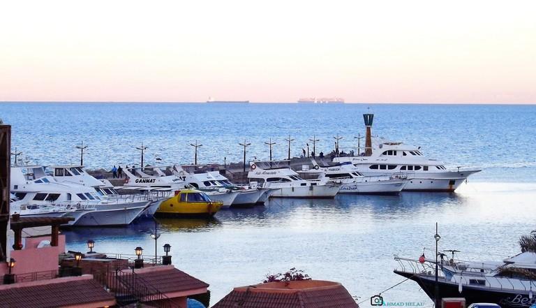 Porto Sokhna Harbor in Ain Al Sokhna, Egypt