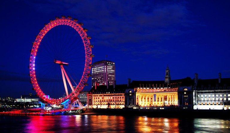 The London Eye is one of many amazing attractions in London