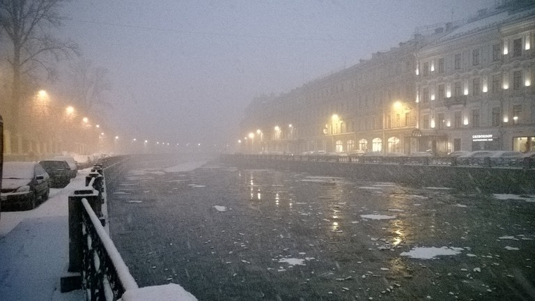 The unpredictable weather of St Petersburg