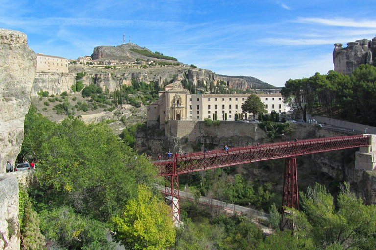 Views over the gorge in Cuenca, Spain