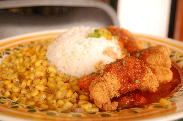 Looking for a savory Cajun side? Our top pick is Corn Maque Choux.