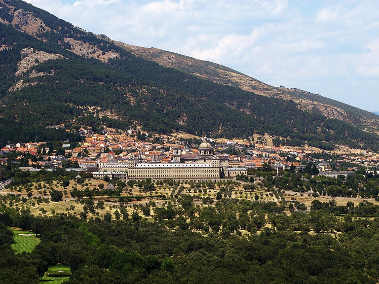 The mountains surrounding El Escorial are a great place for hiking