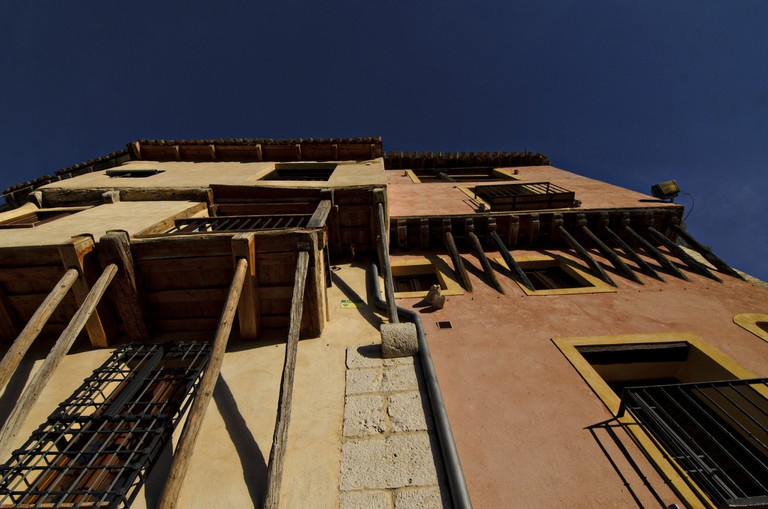 The Hanging Houses of Cuenca are like ancient tower blocks