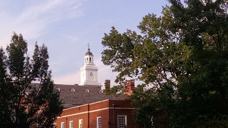 Johns Hopkins University, Baltimore, Maryland, Late afternoon