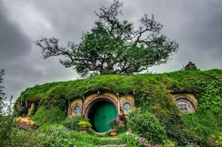 Hobbiton, New Zealand surely gives the country an added appeal