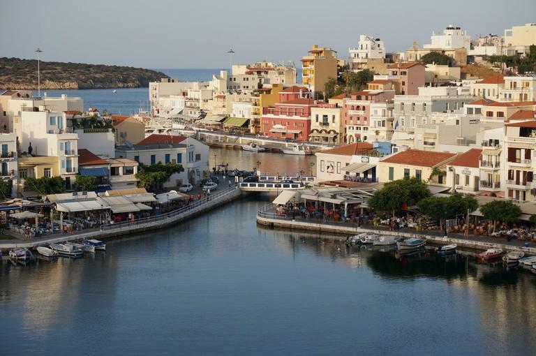 View of Agios Nikolaos, Crete