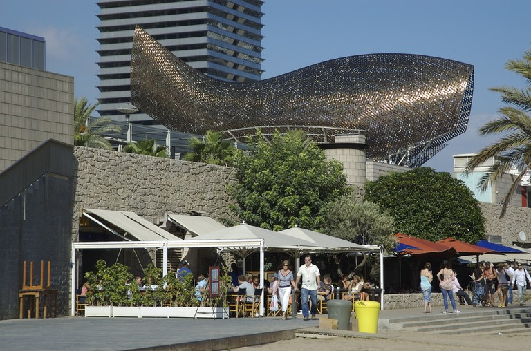 Frank Gehry's Fish