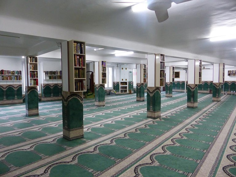 The Omar Ibn Al Khattab Mosque in Paris