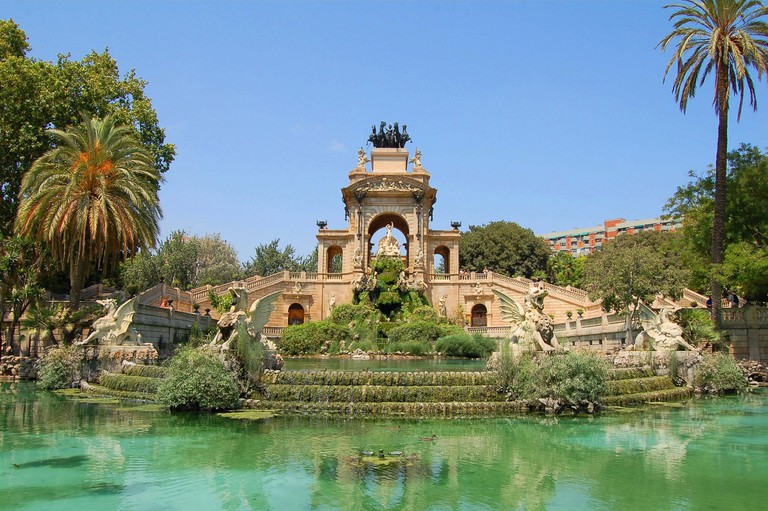 The Ciutadella Park fountain