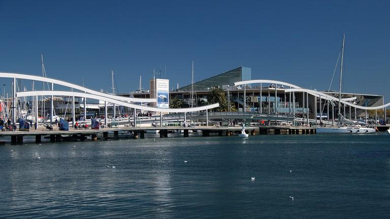 The port near Las Ramblas