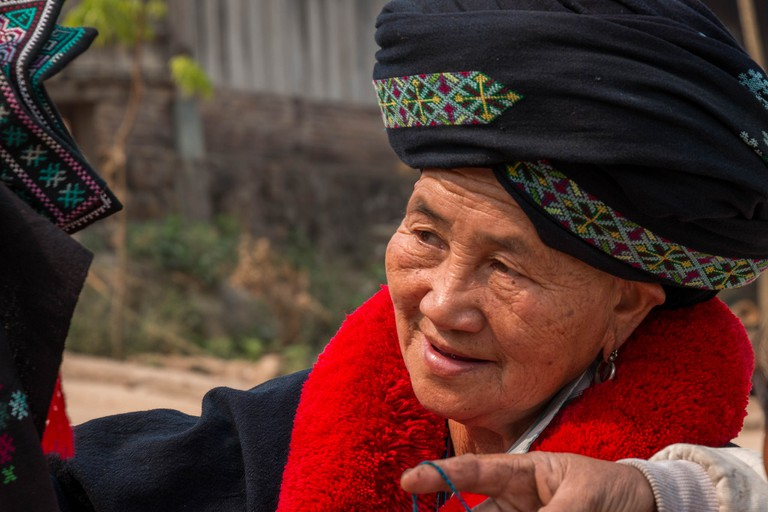 Laotian Yao Woman