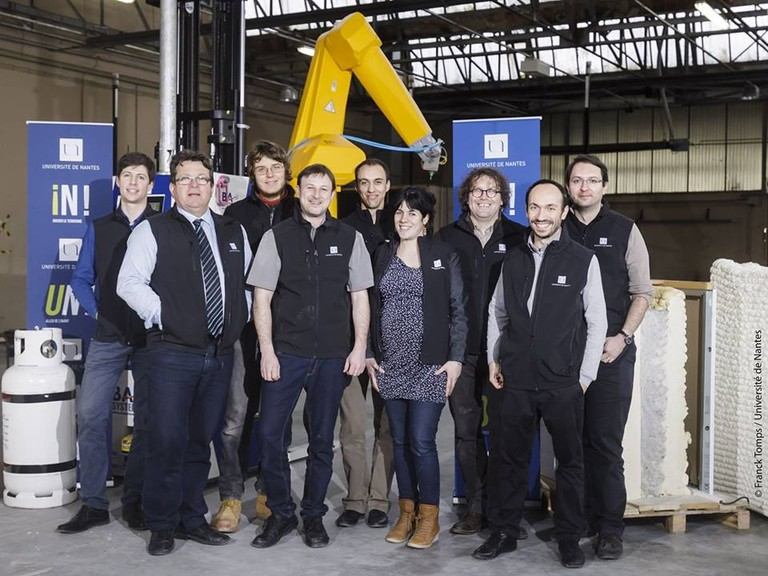 The team behind the world's first 3D-printed house
