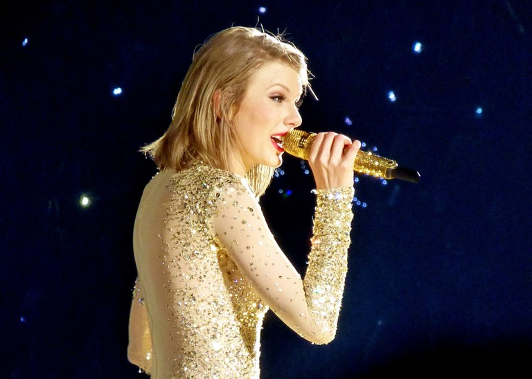 Taylor Swift performed at the Tacoma