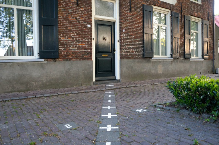 Borders in Baarle sometimes run straight through homes
