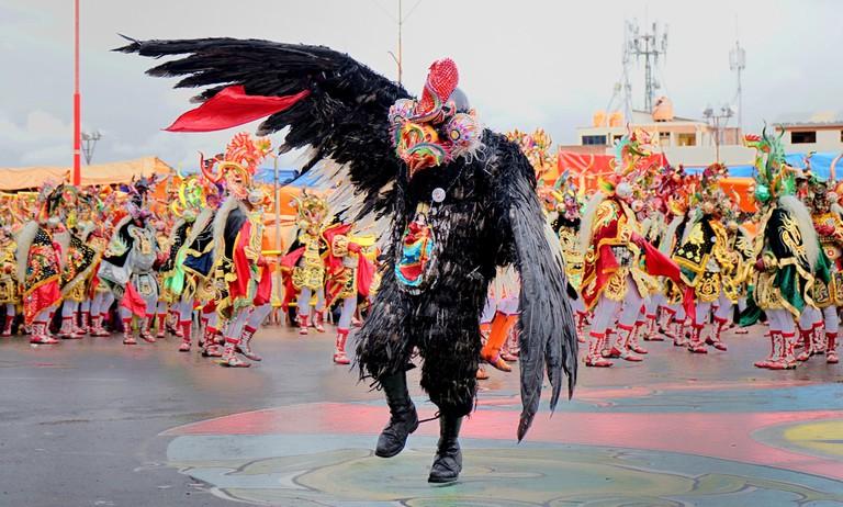 Birdman at carnival