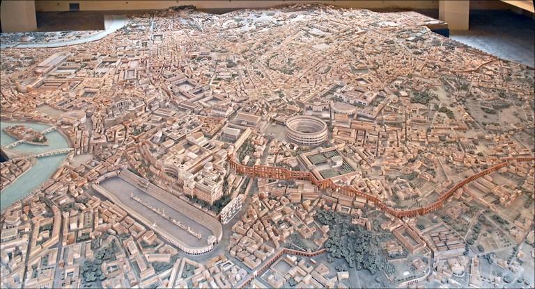 Il Plastico di Roma Imperiale