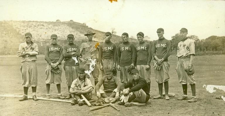 Nicaraguan baseball team in 1915