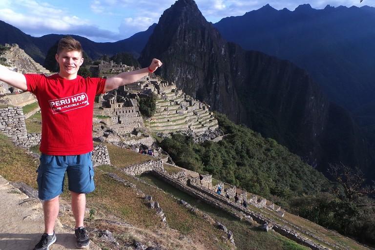 Peru Hop at Machu Picchu