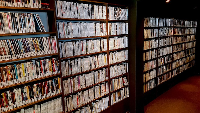 Close-Up Film Centre's library