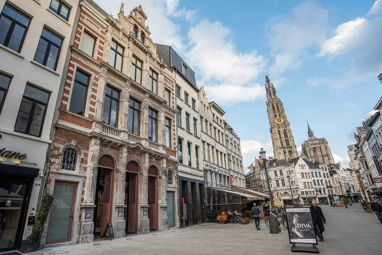 The DIVA Museum is located in the centre of Antwerp