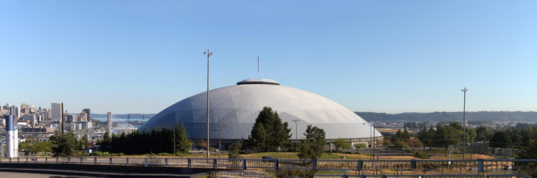 Tacoma Dome panorama