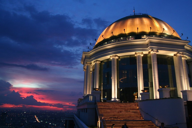 The Sky Bar's famous dome