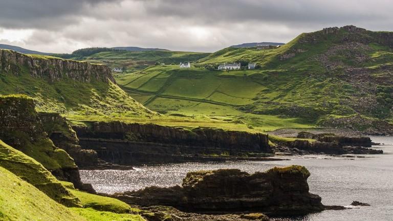 View from Rubha nam Brathairean, Isle of Skye, Scotland