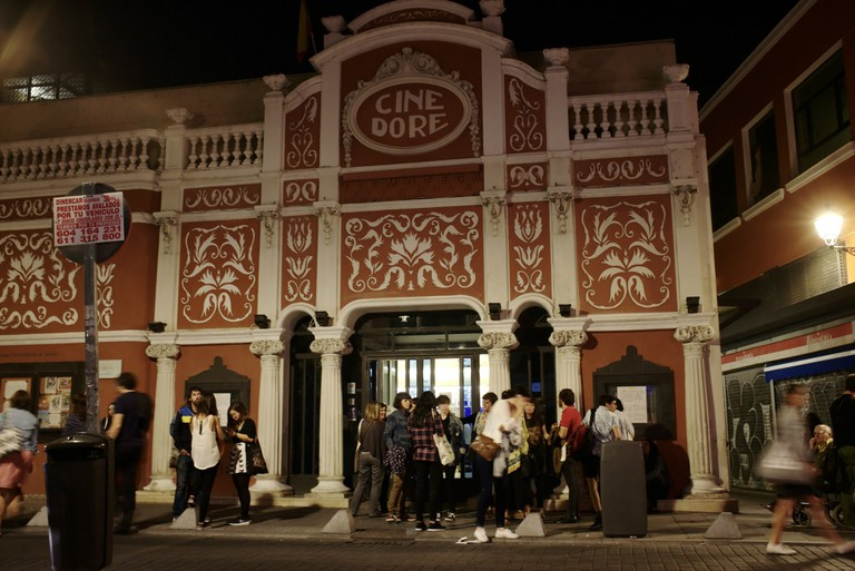 The Cine Doré cinema in Lavapiés