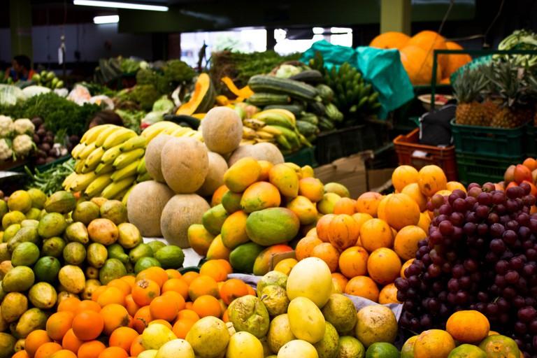 Fruit at Paloquemao market